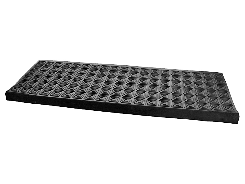 Anti non slip rubber stair tread treads step covers mats weather resistant ebay for Anti slip exterior stair treads
